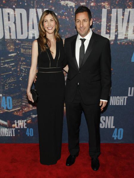 Adam Sandler y señora