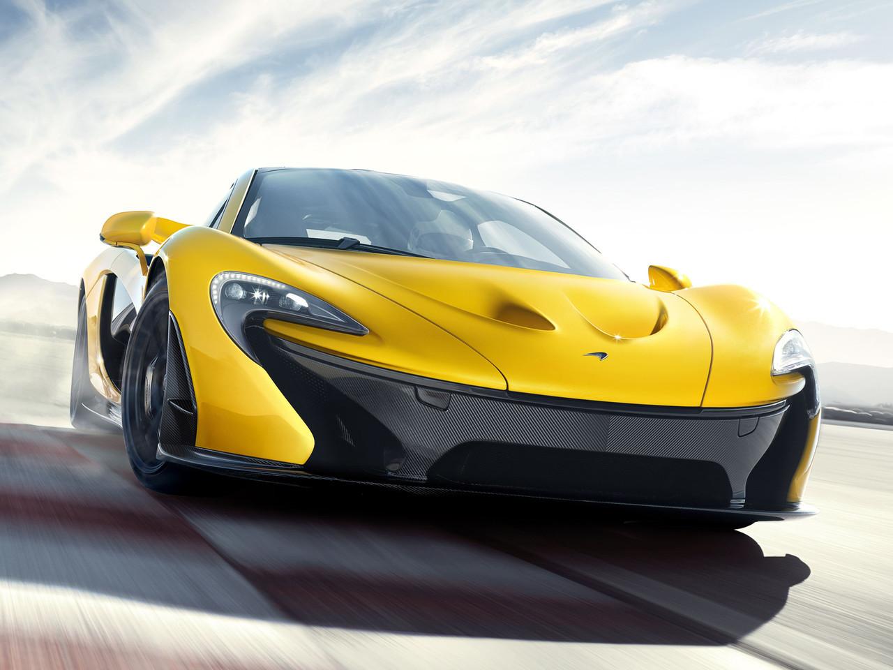 Foto de McLaren P1 amarillo (1/9)