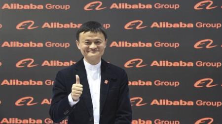 Jack Ma Thumbs Up