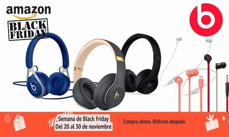 Black Friday en Amazon: auriculares de diadema e intraauriculares Beats a precios de escándalo