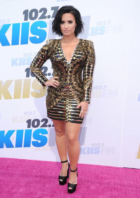 Duelo Estilo Balmain Demi Lovato Kris Jenner Khloe Kardashian 2
