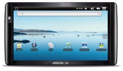 Tablets baratos con Android de la mano de Arnova
