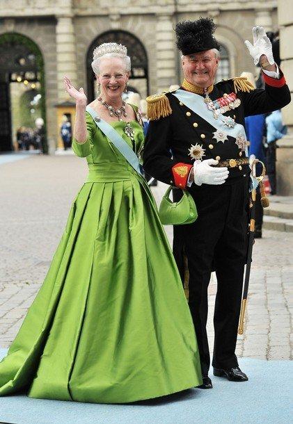 Boda de la Princesa Victoria de Suecia, ceremonia: Margarethe II