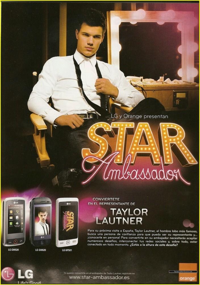Foto de Taylor Lautner Star Ambassador (3/3)