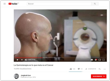 La Quimioterapia Es Lo Que Mata No El Cancer Youtube Google Chrome 2018 01 31 16 33 46