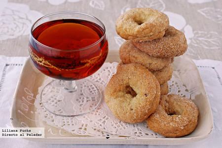 Rosquillas dulces de anís y vino con aceite de oliva: receta dulce para la sobremesa