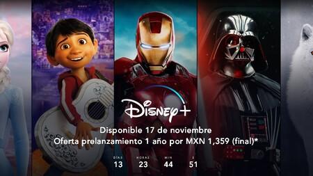 Disney+ inicia su prelanzamiento en México: precio especial de 1,359 pesos por un año de suscripción