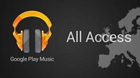 Google Play Music All Access desembarca en España y en ocho países europeos más