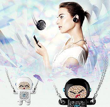Bluetooth Philips con cristales Swarovski