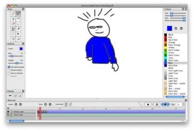 Pencil, creando nuestras propias animaciones en 2D