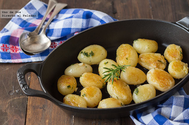 Receta de patatas a la mantequilla