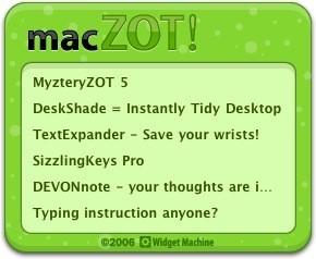MacZOT! compra software barato para Mac