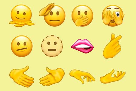 Apretón de manos, cabeza derretida, saludo militar y más: 37 nuevos emojis llegarán a nuestros móviles con Unicode 14