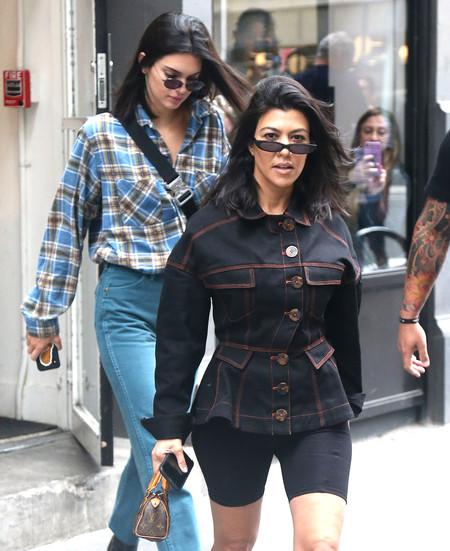Kendall Jenner vs. Kourtney Kardashian: comparten genes pero no estilo