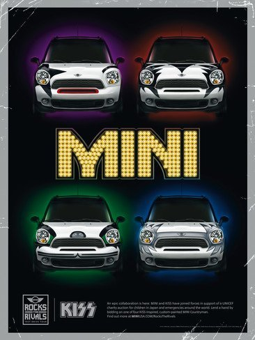 Mini Countryman Cooper S y Kiss