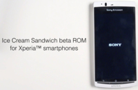 Sony nos enseña la beta de Ice Cream Sandwich para sus Xperia