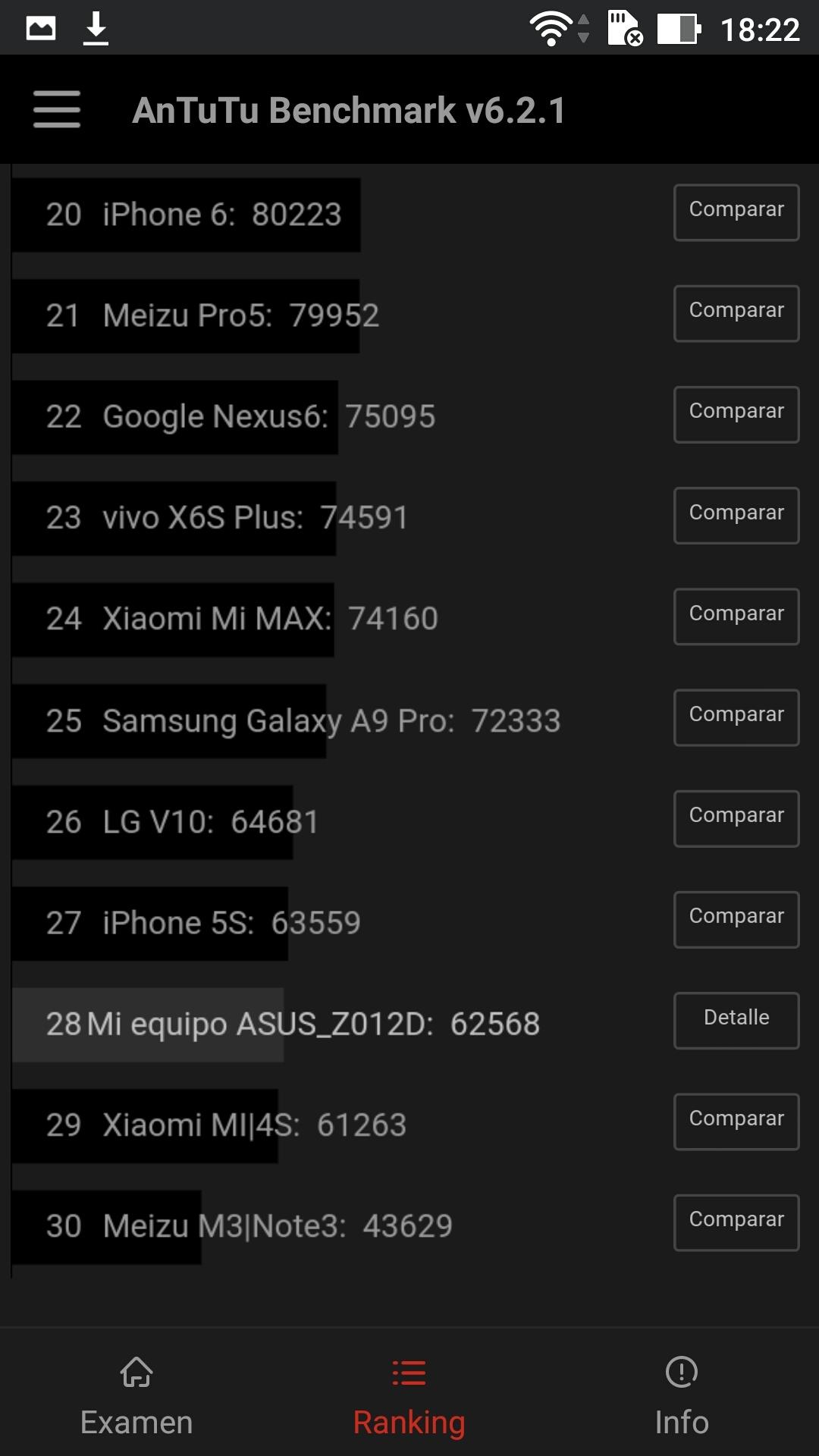 Foto de ASUS Zenfone 3 (ZE552KL), benchmarks (25/29)