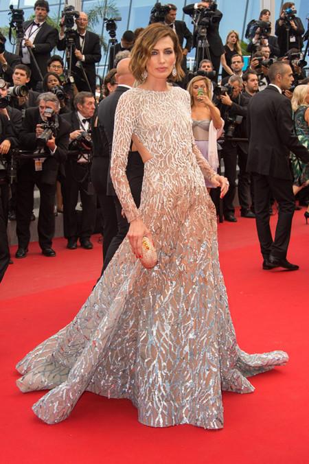 Nieves Alvarez1 Festival Cannes 2015 Elie Saab