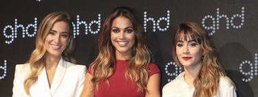 """Lara Álvarez, María Pombo y Aitana Ocaña se convierten en las nuevas """"reinas"""" de ghd para esta navidad"""