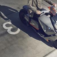 El vehículo de dos ruedas del futuro que imagina BMW es eléctrico y espectacular