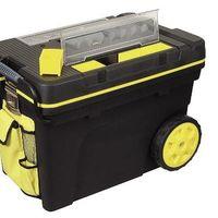 Tenemos el arcón de transporte de herramientas de 53 litros de capacidad Stanley 1-92-083 por 35,30 euros en Amazon