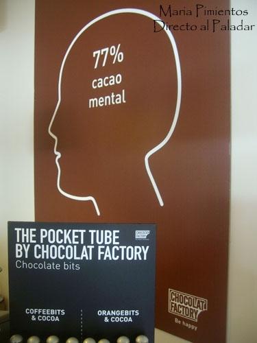 Chocolat Factory. Soy la tentación