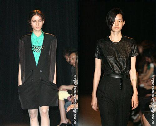 Akira Naka, colección primavera/verano 2009