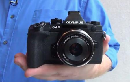 La Olympus OM-D E-M1 se hace pública por accidente