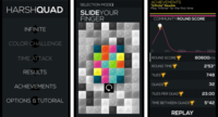 Harshquad, un simple pero adictivo juego para Windows Phone 8
