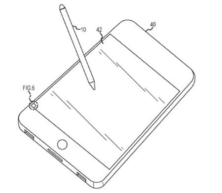 Apple quiere patentar un stylus óptico