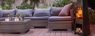 13 braseros para terraza, jardín y balcón que sirven también como barbacoa cuando llega el buen tiempo