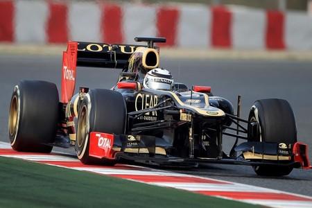 Lotus no tendrá doble-DRS hasta el Gran Premio de Japón