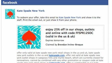 Facebook abre a las pequeñas empresas su servicio de cupones gratuitos