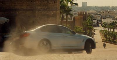 El BMW M3 en la película 'Misión Imposible: Nación Secreta'