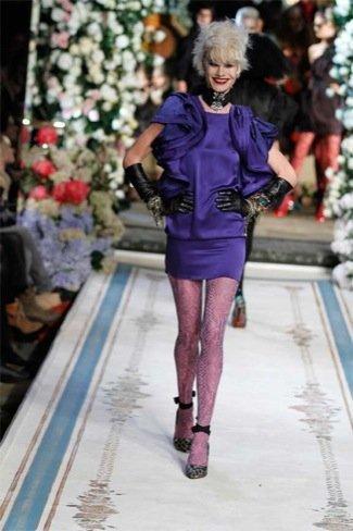 Lanvin HM, colección Alta Costura, vestido hombreras