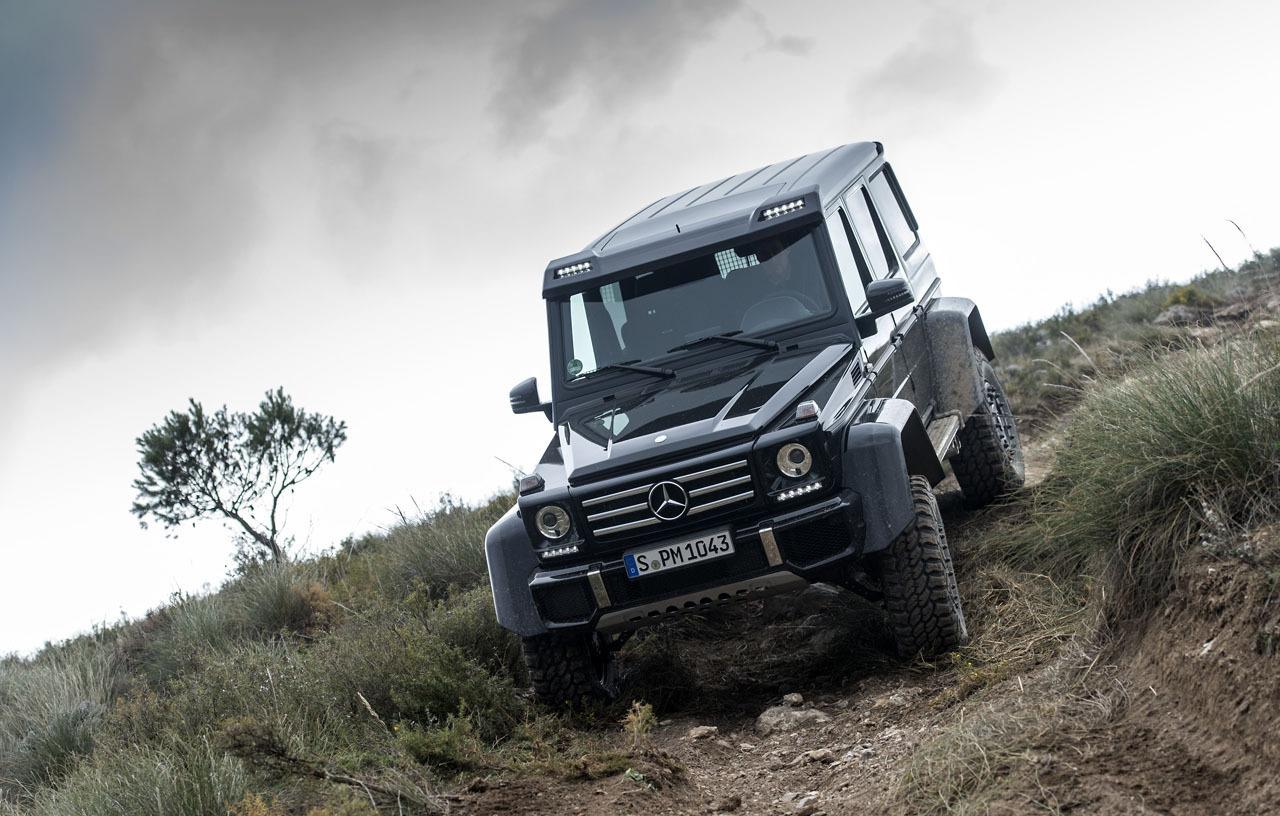 Foto de Mercedes-Benz G 500 4x4², toma de contacto (66/127)