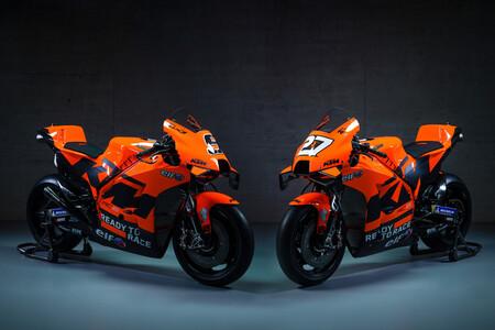 El Tech3 cambia decoración y luce de naranja en la nueva KTM RC16 de MotoGP tras su separación de Red Bull