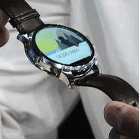 Fossil nos enseña su reloj Android Wear con corazón Intel
