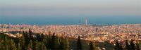 El funicular de Vallvidrera y el parque de Collserola (Barcelona)