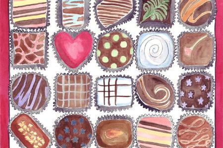 Las dulces y parisinas acuarelas de Jojo la Rue