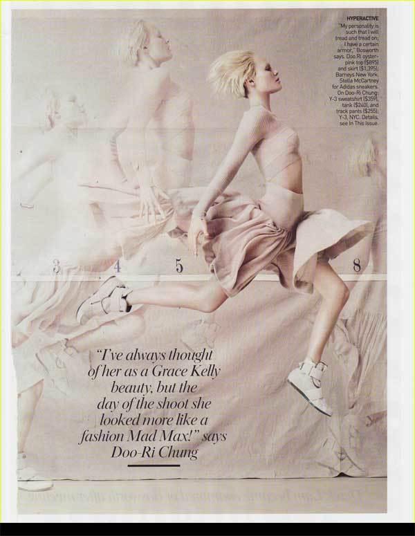 Kate Bosworth en Vogue