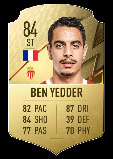 Ben Yedder mejores jugadores ligue 1 fifa 22