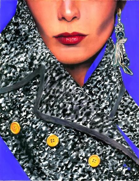 Marcela Gutiérrez, ilustraciones de moda y arte con filtro de acuarela