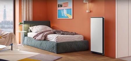 Los armarios Samsung Bespoke AirDresser y ShoeDresser te ayudan a eliminar los malos olores, virus y bacterias de tus zapatos y prendas
