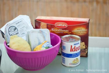 ingredientes cheescake de limon