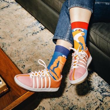 Los calcetines son las nuevas sneakers, y la última colección de Happy Socks x Amber Vittoria podría convertirse en tu nueva obsesión