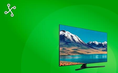 """Hazte con la Smart TV 4K Samsung UE55TU8505 55"""" de 2020 por menos de 500 euros en Amazon y El Corte Inglés este Cyber Monday"""