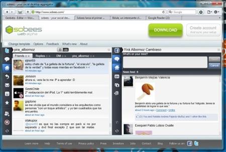 Sobees web ahora también ofrece soporte para Facebook