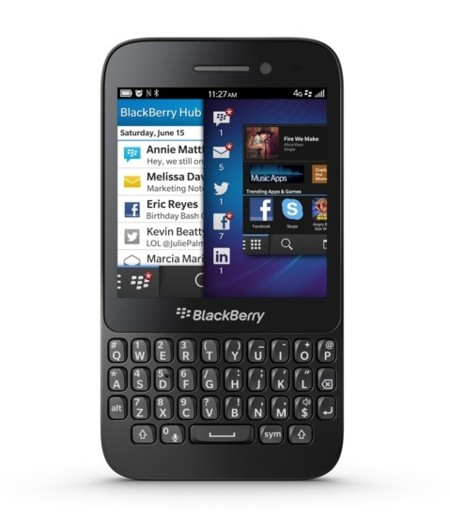 La BlackBerry Q5 ya está en España