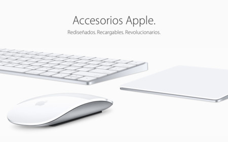 Nuevos Magic Keyboard, Magic Trackpad 2 y Magic Mouse 2 con batería integrada y conector Lightning